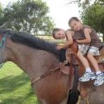 Elite Equine Vet Kansas Kids and Horses2